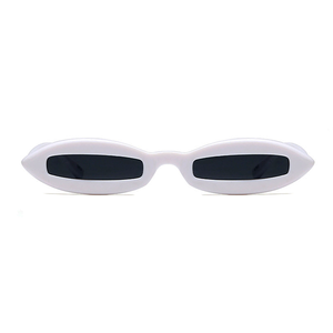 The Skinny View Sunglasses White - Youthly Labs