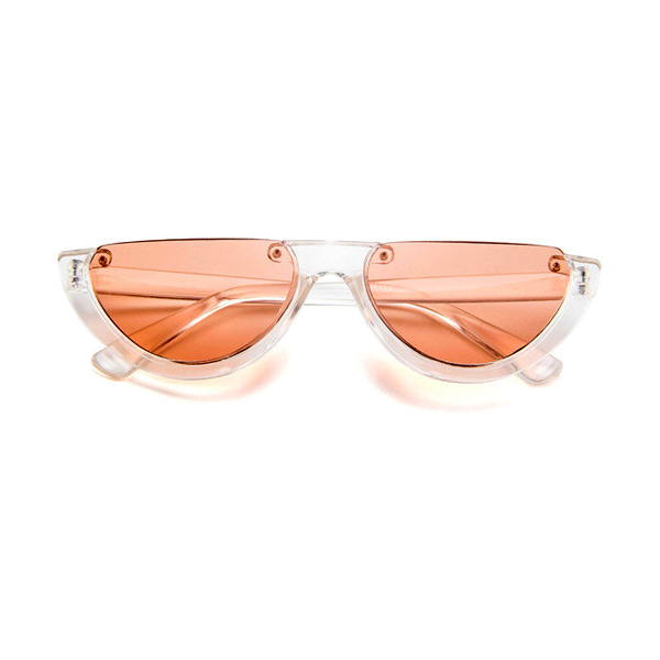 The Sleepy Kitty Sunglasses Orange