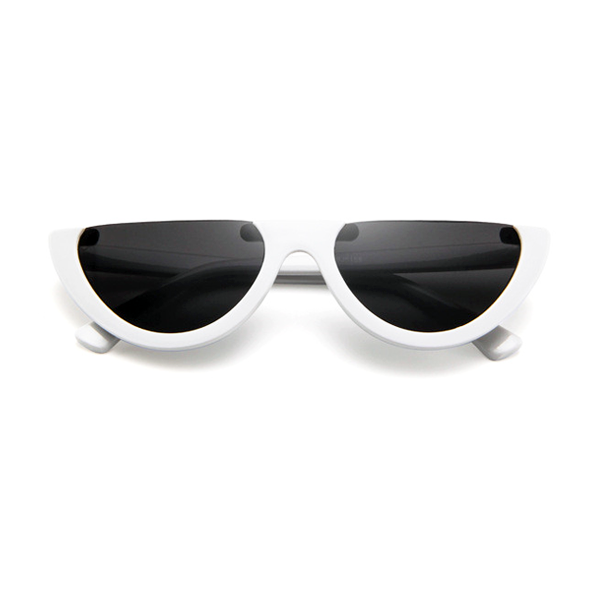 The Sleepy Kitty Sunglasses White - Youthly Labs