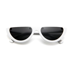 The Sleepy Kitty Sunglasses White