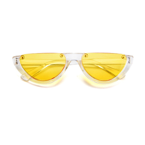 The Sleepy Kitty Sunglasses Yellow - Youthly Labs