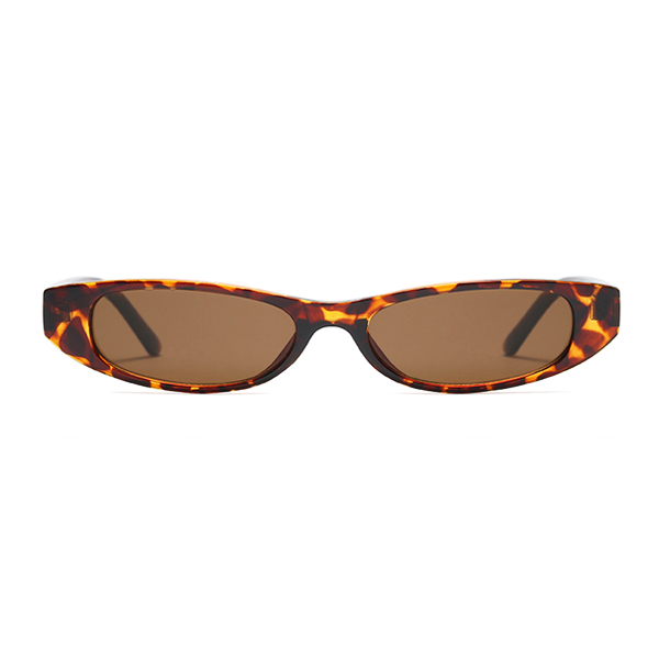 b9c9091c12 The Small Oval Sunglasses Leopard - Youthly Labs