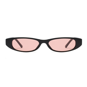 The Small Oval Sunglasses Pink Black - Youthly Labs
