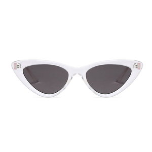 The Smooth Kitty Sunglasses Clear Black