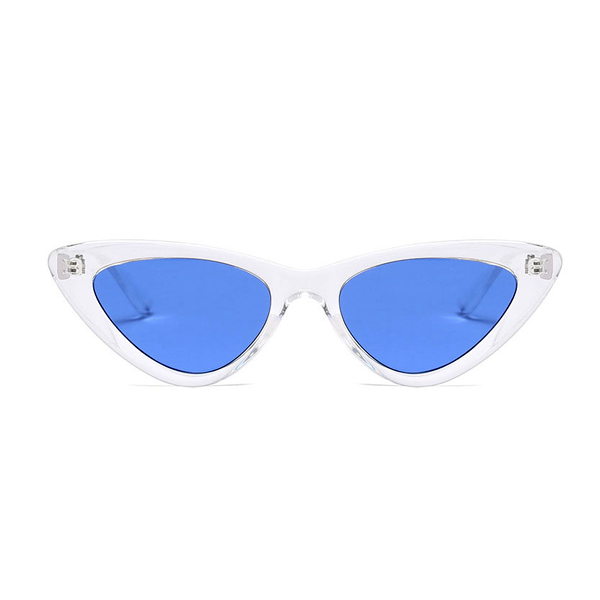 The Smooth Kitty Sunglasses Clear Blue