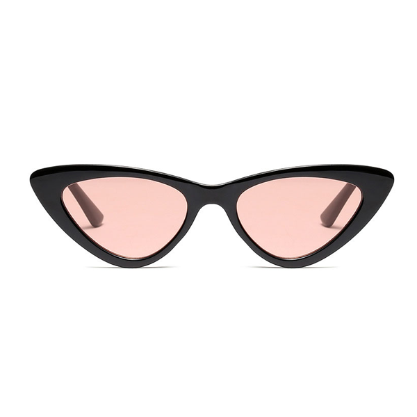 The Smooth Kitty Sunglasses Black Orange