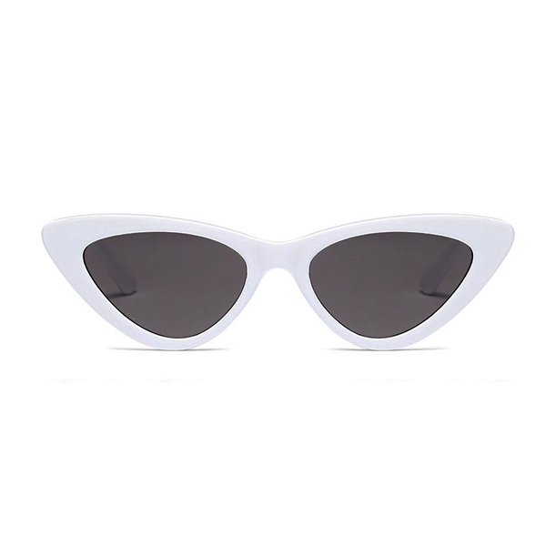 The Smooth Kitty Sunglasses White