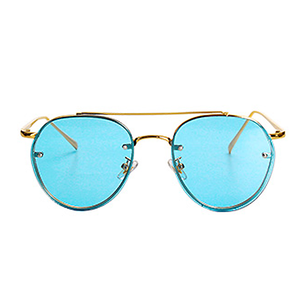 The Sophisticated Aviator Sunglasses Blue