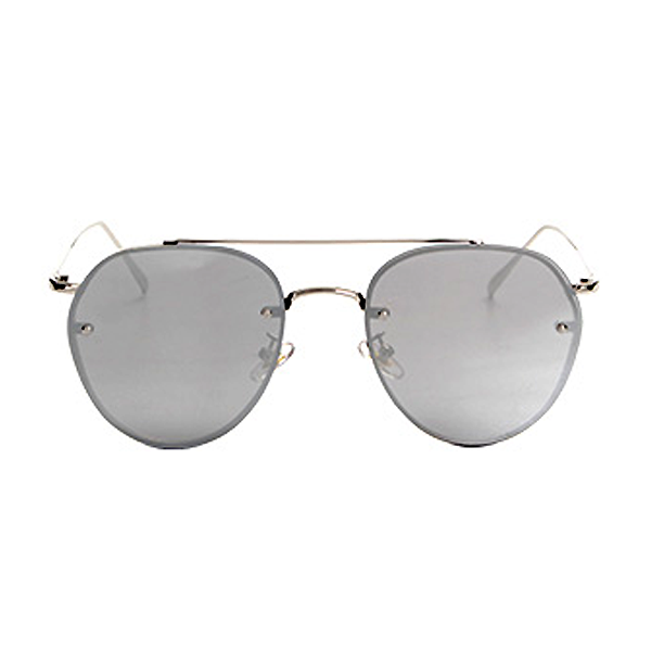The Sophisticated Aviator Sunglasses Silver