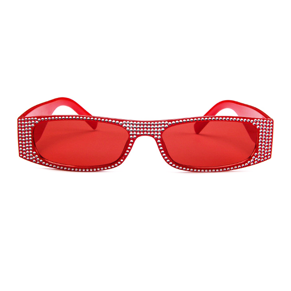 The Space Travel Chic Sunglasses Red - Youthly Labs