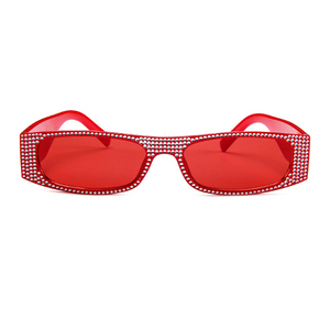 The Space Travel Chic Sunglasses Red