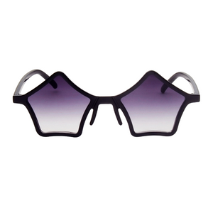 The Standout Stars Sunglasses Black - Youthly Labs