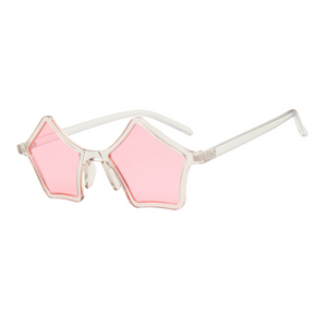 Star Shaped Sunglasses Pink