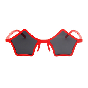 The Standout Stars Sunglasses Red