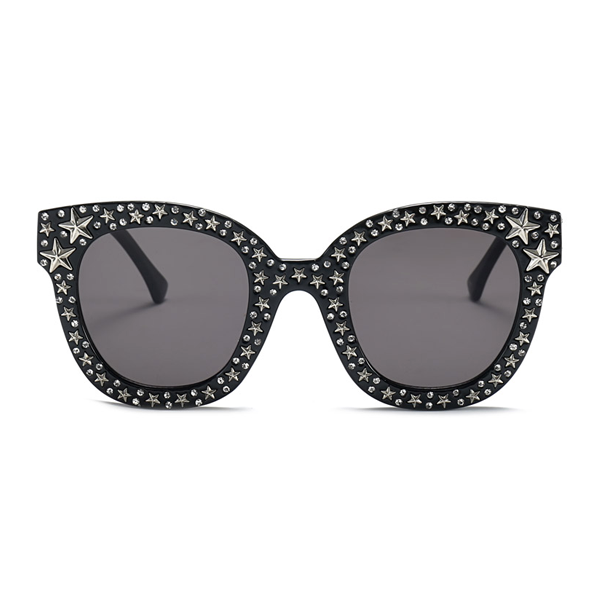 The Starry Night Sunglasses Black - Youthly Labs