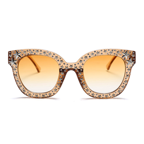 The Starry Night Sunglasses Light Brown