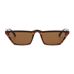 The Single Stripe Sunglasses Leopard Black - Youthly Labs