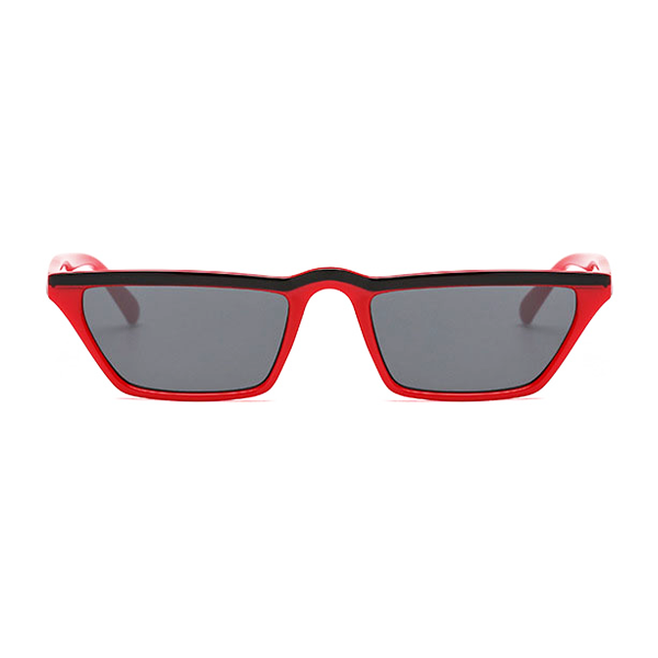 The Single Stripe Sunglasses Red Black - Youthly Labs