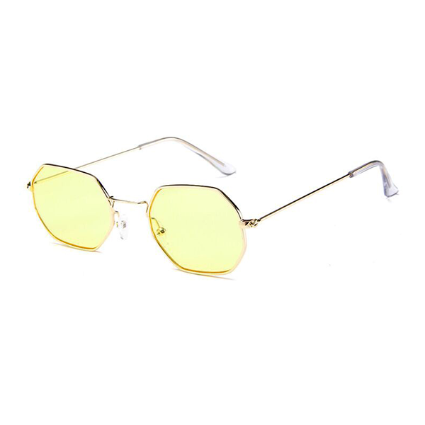 ce4465aa3209 The Tiny Metallic Octagon Sunglasses Yellow - Youthly Labs
