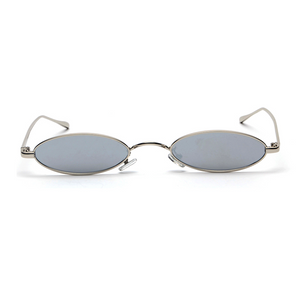 The Tiny Oval Sunglasses Gray - Youthly Labs