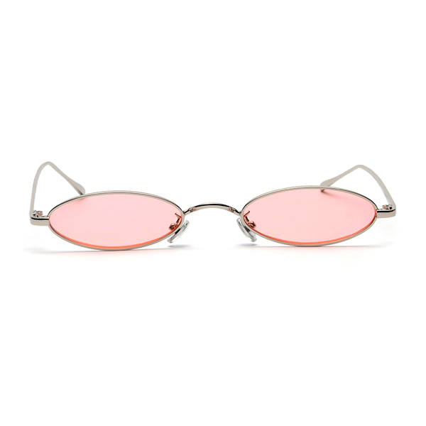 The Tiny Oval Sunglasses Pink