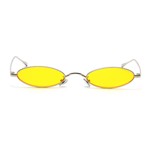 The Tiny Oval Sunglasses Yellow - Youthly Labs