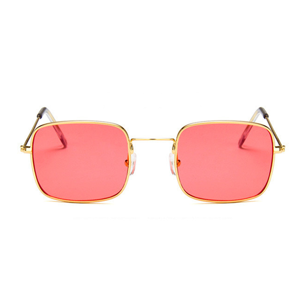 The Tiny Square Sunglasses Red - Youthly Labs