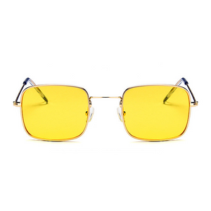 The Tiny Square Sunglasses Yellow - Youthly Labs