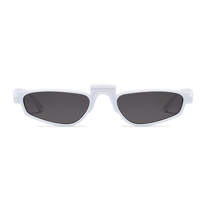 The Tiny Windshield Sunglasses White