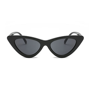 Vintage black cateye sunglasses