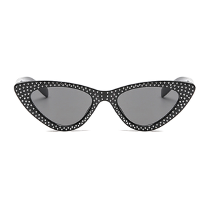 The Vintage Bling Sunglasses Black - Youthly Labs