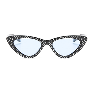 The Vintage Bling Sunglasses Blue Black - Youthly Labs