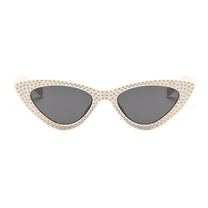 The Vintage Bling Sunglasses Ivory - Youthly Labs