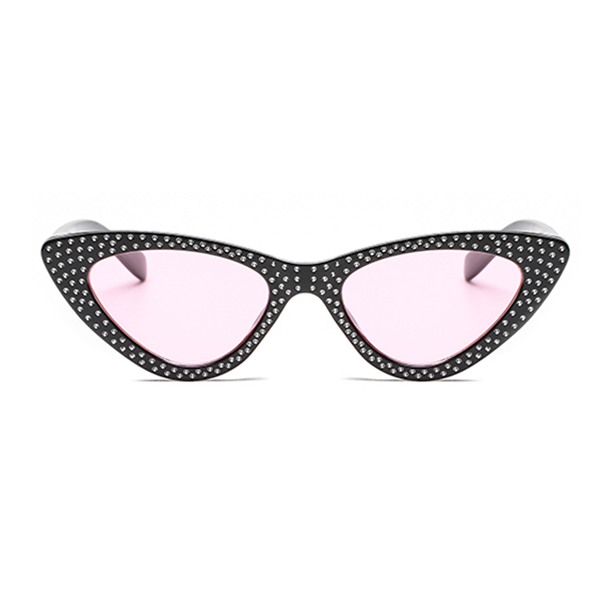 The Vintage Bling Sunglasses Pink Black