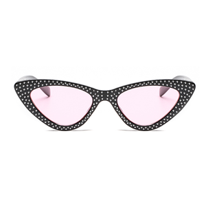 The Vintage Bling Sunglasses Pink Black - Youthly Labs