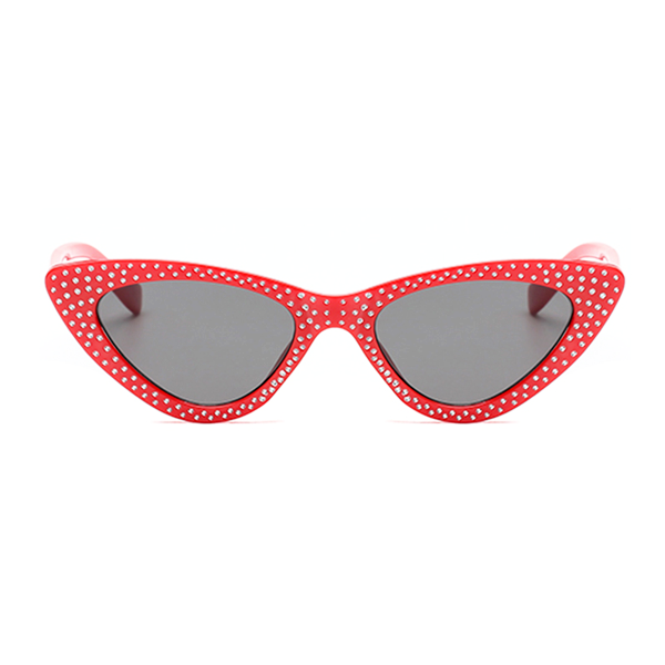 The Vintage Bling Sunglasses Red - Youthly Labs