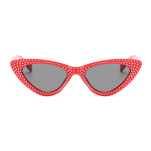 The Vintage Bling Sunglasses Red