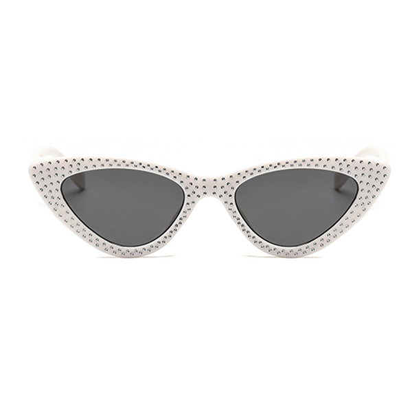 The Vintage Bling Sunglasses White - Youthly Labs