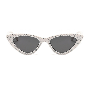 The Vintage Bling Sunglasses White