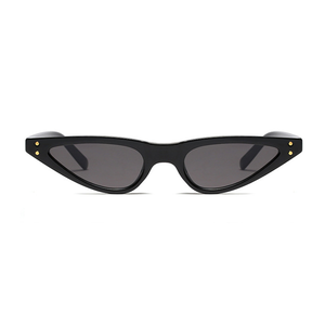 The Flat Triangle Sunglasses Black - Youthly Labs