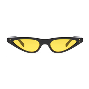 The Flat Triangle Sunglasses Yellow - Youthly Labs