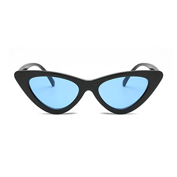 The Vintage Cat Sunglasses Neon Blue - Youthly Labs