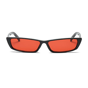 The Upwards Vintage Sunglasses Red Black