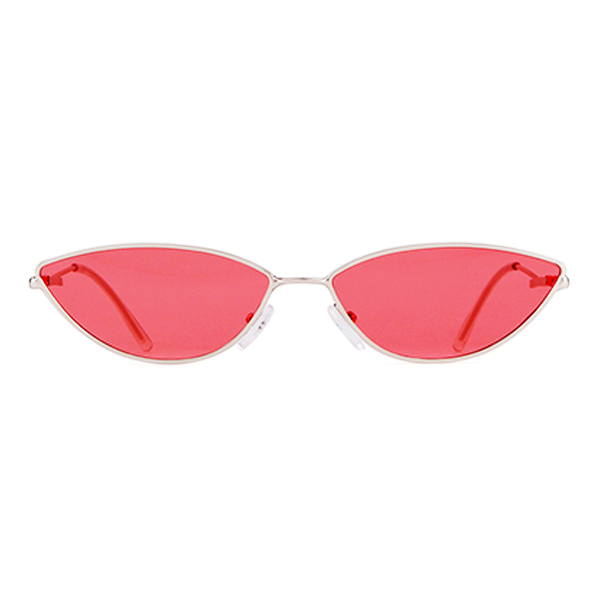 The Working Kitty Sunglasses Red