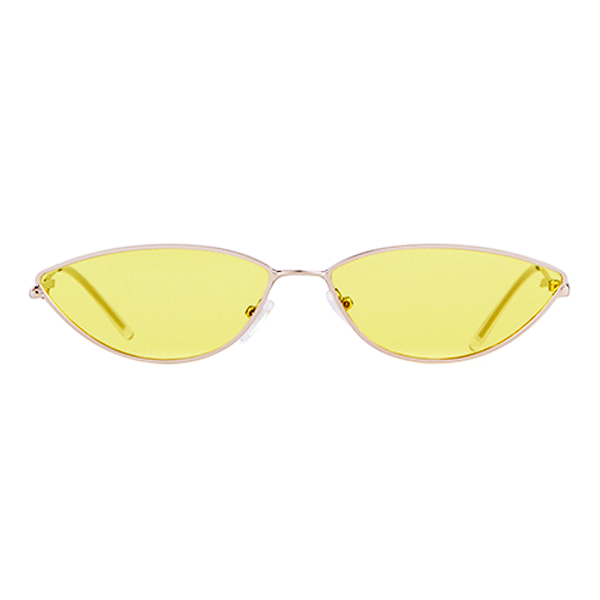The Working Kitty Sunglasses Yellow - Youthly Labs