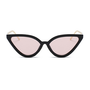 The Young Cat Goddess Sunglasses Pink Black