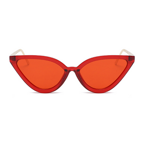 The Young Cat Goddess Sunglasses Red