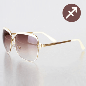 White Arrow Sunglasses
