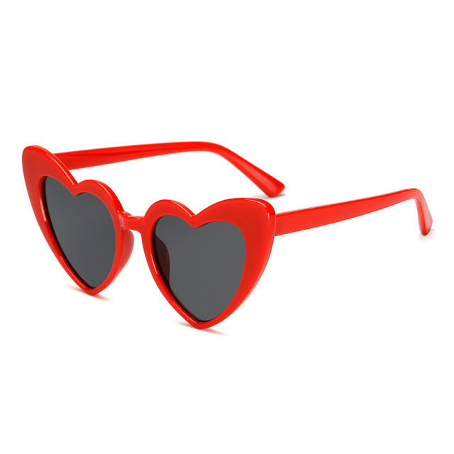 The Funky Heart Sunglasses Red - Youthly Labs