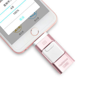 FLASH DRIVE OTG Pen Drive 3 in 1 iphone, android and pendrive